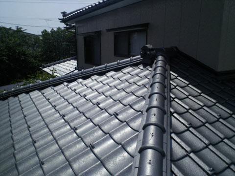 屋根塗装の完工